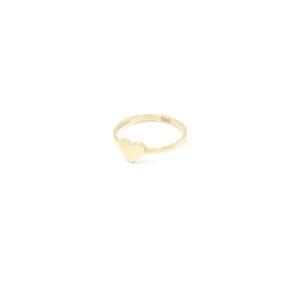 Leuke 14 karaat gouden hart ring