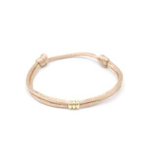 Mooie gouden kralen armband