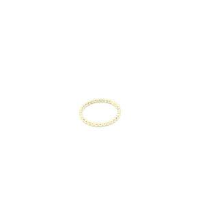 leuke gouden bolletjes ring